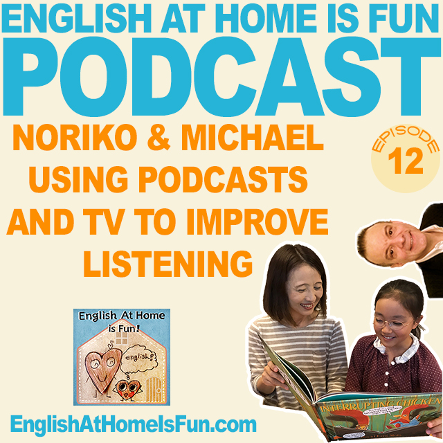 12-PODCASTS-TV-English-listening-skils-English-at-home-is-fun