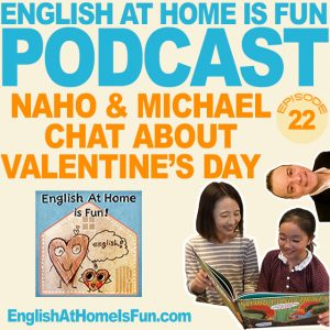 22-Naho-&-Michael-English-at-home-IS-FUN