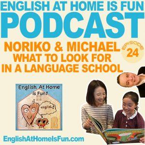 24-NORIKO-&-Michael-English-at-home-IS-FUN